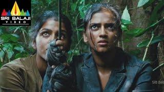 Ranadheera Movie Forest Action Scene | Jayam Ravi, Saranya Nag | Sri Balaji Video