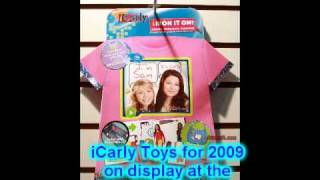 iCarly Toy Fair Video Preview 2009