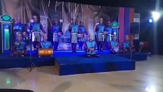Subhanallah suaranya ....Marawis ponpes Al - Mukhtariah Renged Fesma Ramadhan  Baraya TV