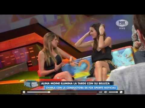 HD Alina Moine Fox Para Todos 15 Julio 2013 Juego Memoria Exclusivo