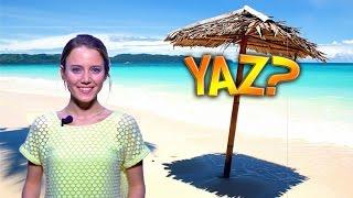 Yaz Nedir? Tatil midir? Bikini diyetçilerini kumsallara salan bir mevsim mi?