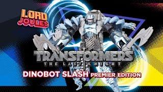 Transformers The Last Knight Dinobot Slash Premier Edition en español