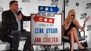 Ann Coulter VS Cenk Uygur (TYT) @ Politicon - FULL DEBATE