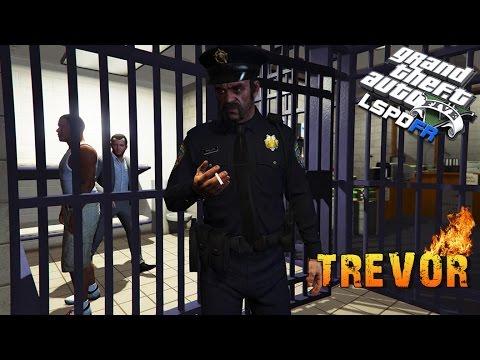 GTA 5 LSPDFR - Trevor Joins LSPD? BAD COP EPISODE!