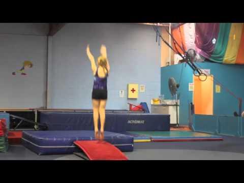 Level 1 Gymnastics Girls Training