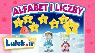 Alfabet i liczby I Piosenka dla dzieci I Lulek.tv