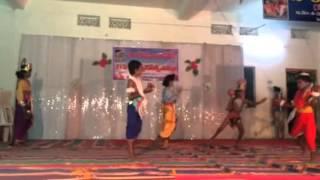 Lava Kusa song cute performance by Sandipani Avasam children