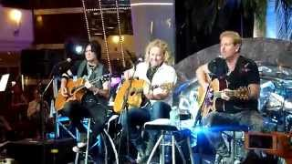 Night Ranger (Acoustic) - When You Close Your Eyes - MSC Divina - Monsters of Rock - 4-19-2015