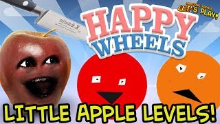 Happy Wheels: Little Apple Levels #1 [Midget Apple Plays]
