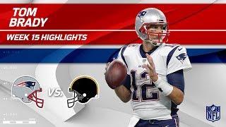 Tom Brady Highlights   Patriots vs. Steelers   NFL Wk 15 Player Highlights