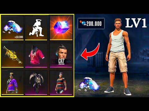 POOR ADAM 👉 BECAME RICH ❤ TRY HIS LUCK 🎁 FREE FIRE