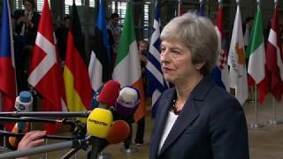 Live: European Council holds summit to discuss Brexit negotiations: arrivals and roundtable