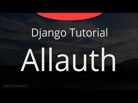 Django - Allauth Tutorial (+ Facebook Login, + Localhost SSL)