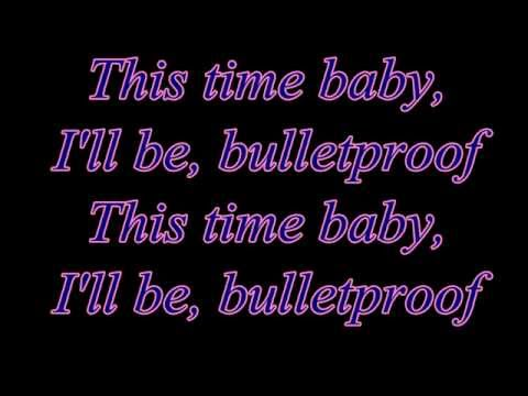 Download Bulletproof - La Roux (Lyrics)