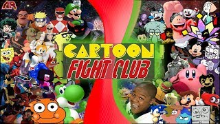 CARTOON FIGHT CLUB ULTIMATE SHOWDOWN 2! (Sonic vs Mario, Gumball, Cuphead, Touhou, Disney, & More)