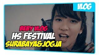 Vlog Beby JKT48 - HS Jogja & Surabaya Seru Guys !