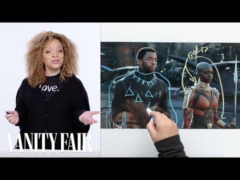 Black Panther's Costume Designer Breaks Down T'Challa's Entrance Scene | Vanity Fair