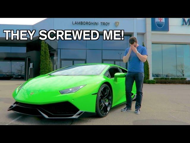 Lamborghini Maintenance COSTS HOW MUCH?!