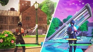 ATTEMPTING TO BUILD A HOUSE ON FORTNITE | (Siimeree Play Fortnite)