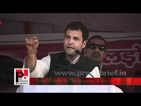 Congress Leader Rahul Gandhi in Chhibramau, Kannauj (U.P) Part 11