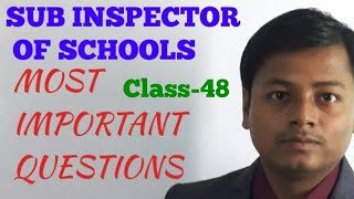 50 questions set||sub inspector of schools 2018||education and child psychology||