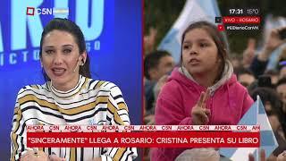 Cristina Presenta Sinceramente En Rosario