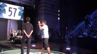 Arkano vs Kensuke - Cuartos Madrid - Red Bull Batalla de los Gallos 2014