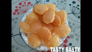 How to make crispy suji/rava/samolina Pani puri,phucka,golgappa recipi
