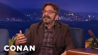 Marc Maron Likes Skype Sex  - CONAN on TBS