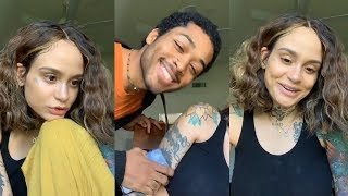Kehlani | Instagram Live Stream | 14 October 2018 [ Answers Fan Questions About Pregnancy ]