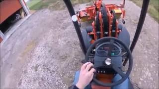 Hoflader Thaler mit Silozange |  Kehrmaschine | GoPro | AgrarTube
