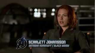 Marvel's The Avengers - Black Widow featurette - Official | HD