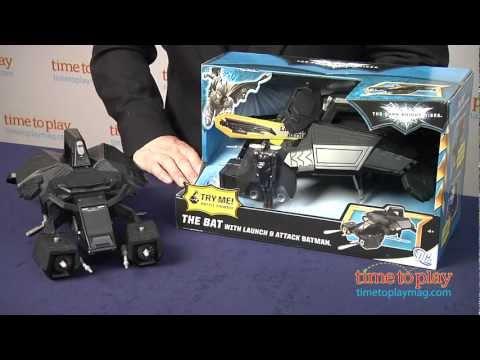 The Dark Knight Rises The Bat from Mattel