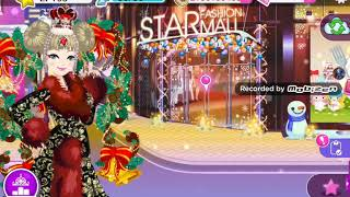 Star gril prenises  gala my fashoin conset and ID:23Q76A Video part (1)