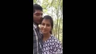Cute indian couples Romance in Park | KUDAKACHADA |