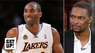 Kobe just wants to enjoy greatness, not focus on the NBA GOAT debate - Chris Bosh | Get Up!