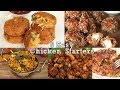 Download Video Download 5 Easy Chicken Starters | Indian Non-Veg Recipes | Ventuno Home Cooking 3GP MP4 FLV