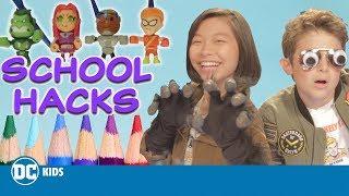 DC Kids Back To School Hacks! | 123 | DC KIDS SHOW
