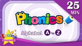 ABC Phonics Alphabet - Letter A to Z | Learning English for kids | Collection of Alphabet Phonics