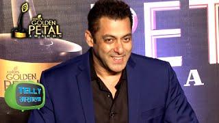 Golden Petal Awards 2016 : Salman Khan Gave A Warning To Big Boss Colors