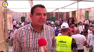 دعم صندوق ووقفية القدس لمركز الاقصى الطبي للطوارئ