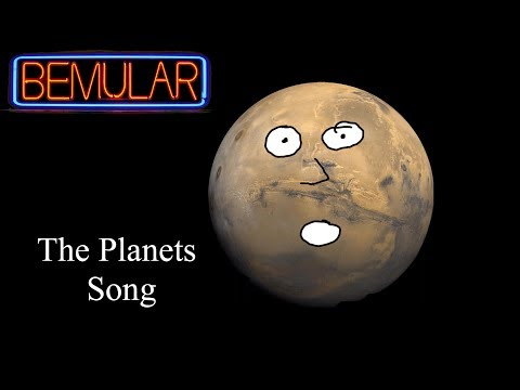 Bemular The Planets Song Educational Kids Music & Video