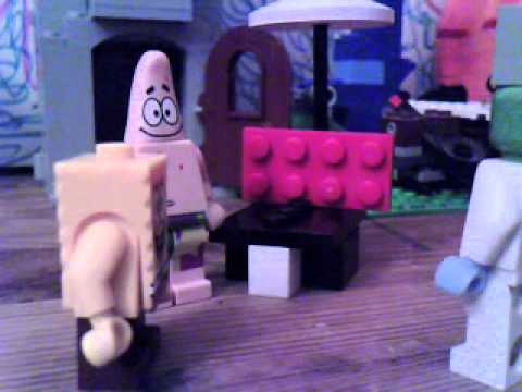 lego spongebob squidward the unfriendly ghost