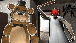 We Visit Granny's House and it Ends in Disaster in Gmod! - Garry's Mod Multiplayer Granny Survival