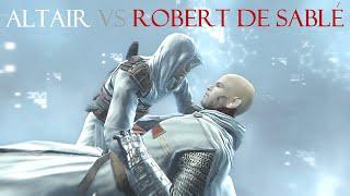 Assassin's Creed : Altair vs Robert de Sablé (Round 2) [60fps]