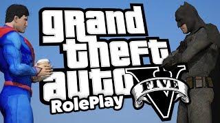 Stupid Batman V Superman (GTA 5 RP Multiplayer RolePlay)