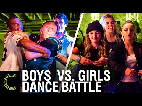 DANCE BATTLE: Boys Vs Girls - ft. Brooklyn and Bailey