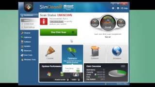SlimCleaner Plus™: How to use One Click Scan