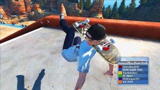 Skate 3 Xbox One: SKATEBOARD NECK! | SKATE 3 GLITCH