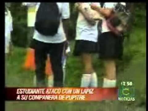 Una estudiante herida en pelea escolar
